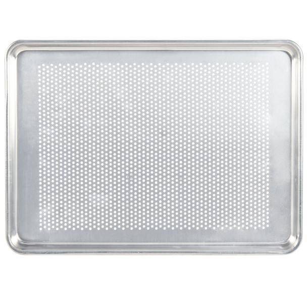 Full Size, 19 Gauge Aluminum Perforated Sheet Pan (ALSP1826PF)