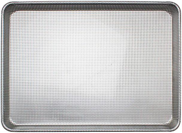 Half Size, 16 Gauge Aluminum Fully Perforated Glazed Sheet Pan (ALSP1813PG)