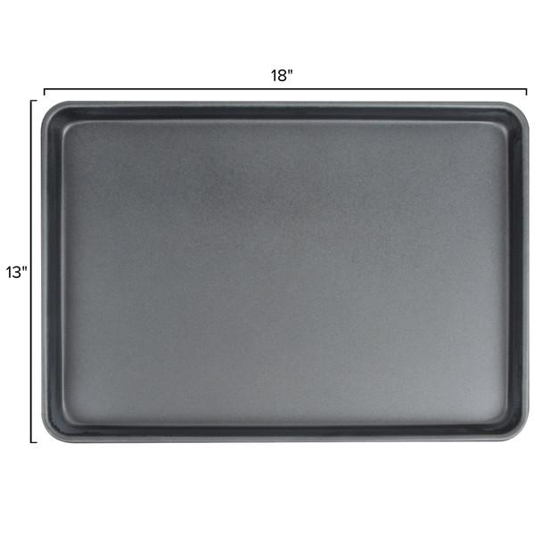 Half Size, 18 Gauge Aluminum Non-Stick Sheet Pan (ALSP1813D)