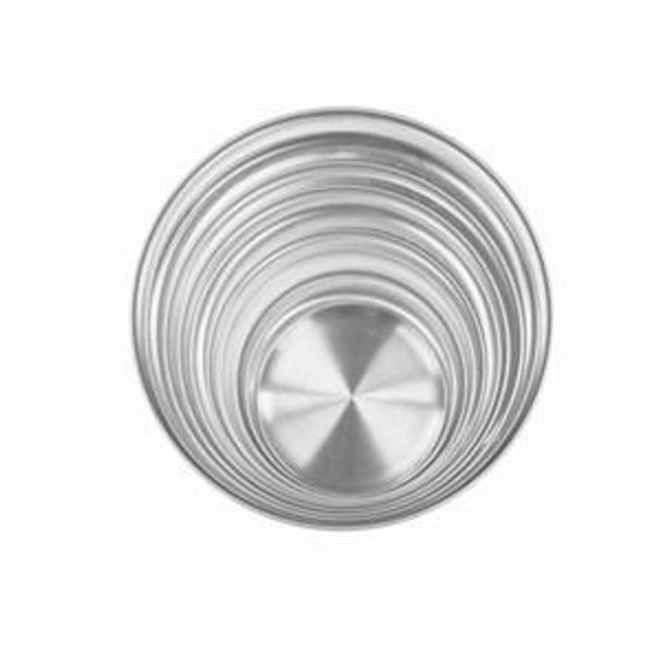 Aluminum Coupe Rim Pizza Tray