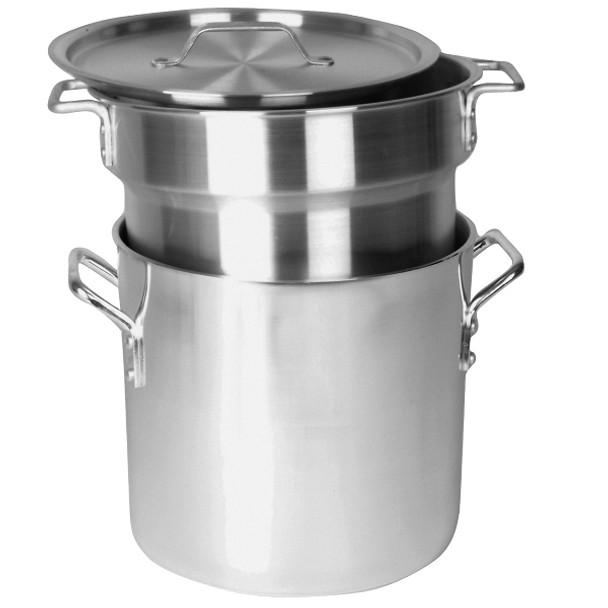 Aluminum Double Boilers (3-Piece Set)