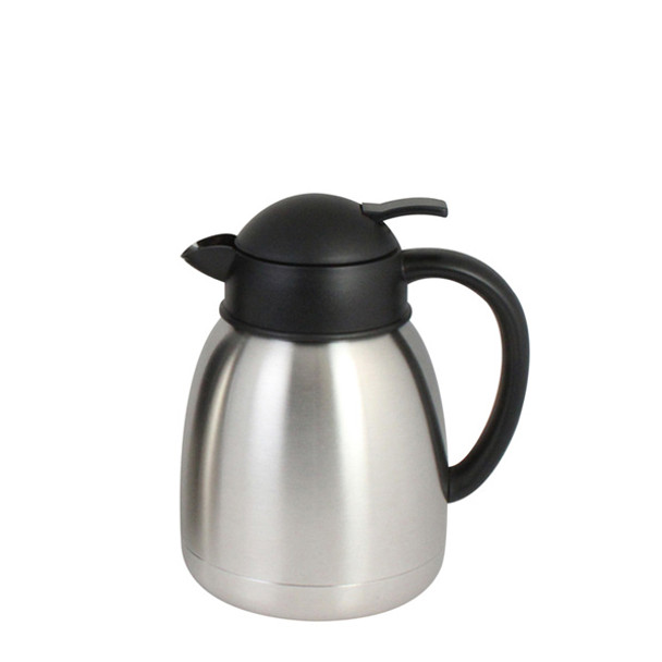 Stainless Steel Push Top Coffee Server