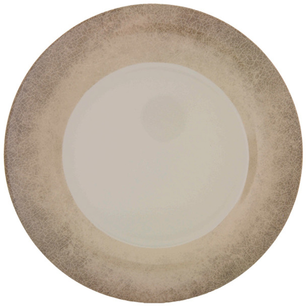 "10.5"" Melamine Wide Rim Graham/Jazz Plates"