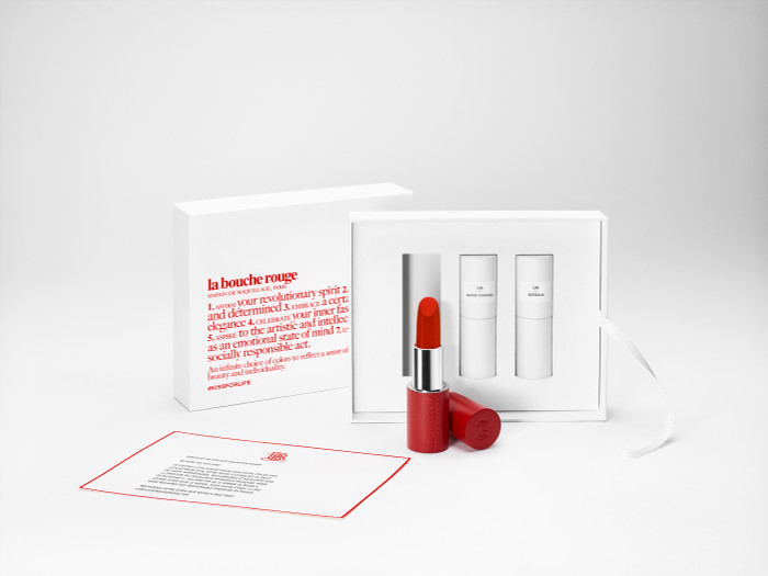 The Parisian Reds - Red Lipstick Set