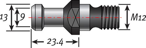 ISO30 Pull Stud | Colombo Spindles