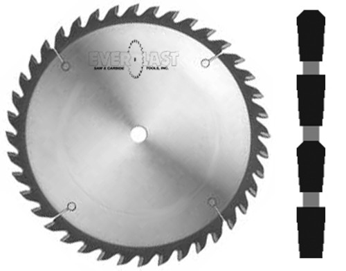 "10"" diameter x 5/8"" bore x .125"" Kerf x Triple Chip Grind"