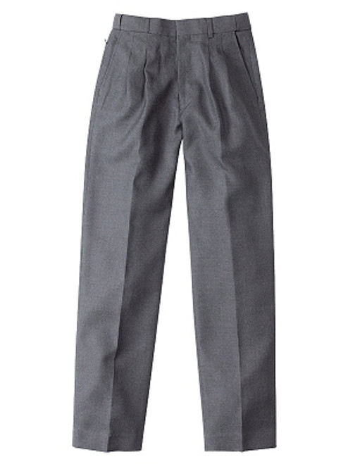 Midford melange dark grey school trousers