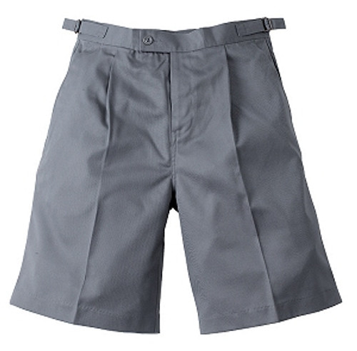 Midford Boy's School Uniform Tab Shorts 9904 Khaki Grey Navy