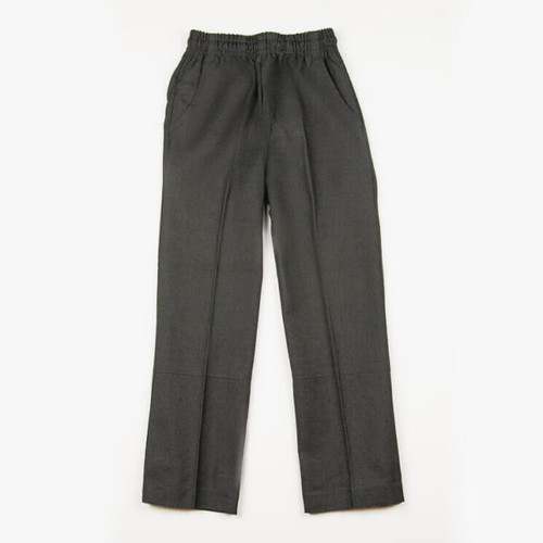 Scags Grey Melange Boys School Uniform Trousers Style 334