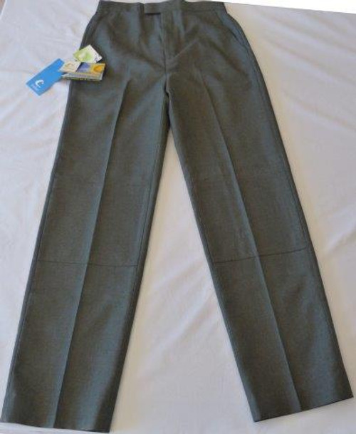 Trutex Grey Melange Boys School Uniform Pants