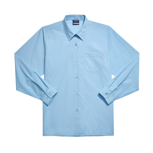 Midford Girls School Uniform Sky Blue Basic Blouse Buy Online