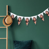 Personalised Photo Triangle Bunting