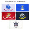 Armed Forces 5 Branch Sets
