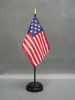 """STAR SPANGLED BANNER 4X6"""" TABLE TOP FLAG"""