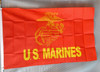 US MARINES NEW 3X5' S-POLY FLAG