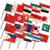 "20 ASIA 4X6"" TABLE TOP FLAGS ONLY SET"