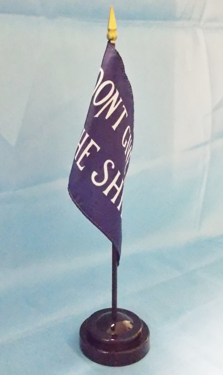 """COMMODORE PERRY 4X6"""" TABLE TOP FLAG"""