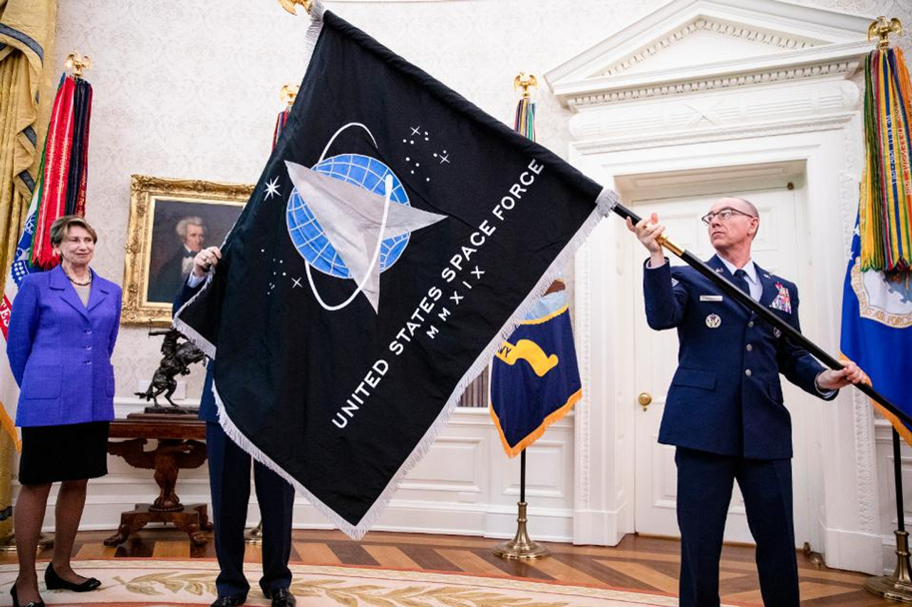 Space Force 3x5' flag s-poly