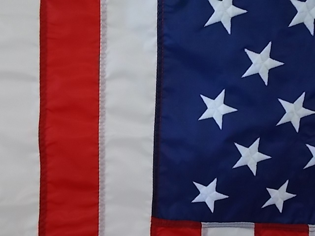 USA COMMERCIAL GRADE NYLON FLAGS 3X5' to 30X60'
