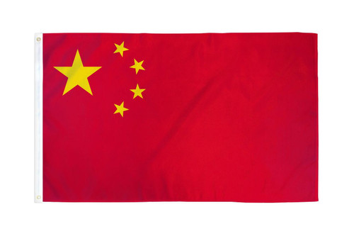 CHINA 3X5' S-POLY FLAG