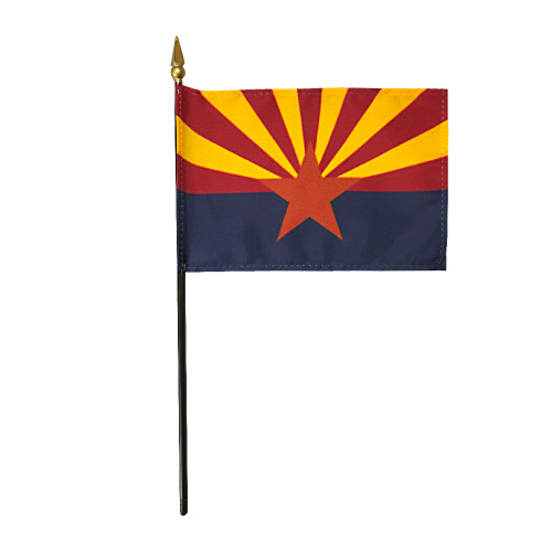 "ARIZONA 4X6"" TABLE TOP FLAG"