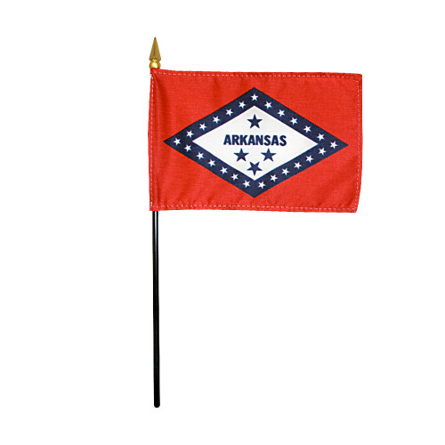 "ARKANSAS 4X6"" TABLE TOP FLAG"