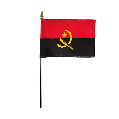"ANGOLA 4X6"" TABLE TOP FLAG"