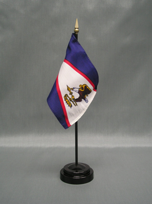 "AMERICAN SAMOA 4X6"" TABLE TOP FLAG"