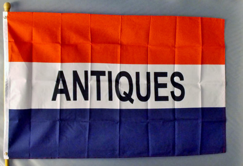 ANTIQUES 3X5' S-POLY FLAG