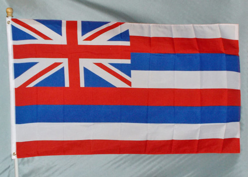 HAWAII 3X5' S-POLY FLAG IMPORTED