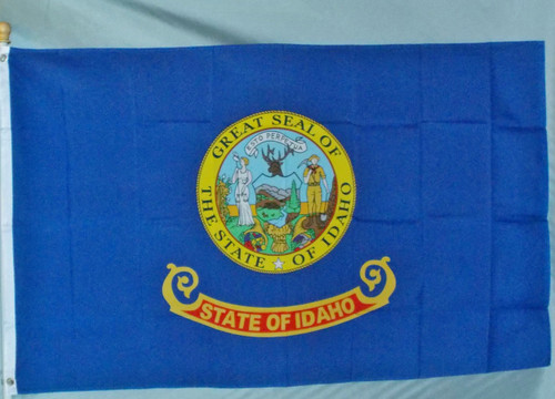 IDAHO 3X5' S-POLY FLAG IMPORTED