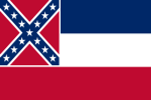 MISSISSIPPI 3X5' S-POLY FLAG IMPORTED
