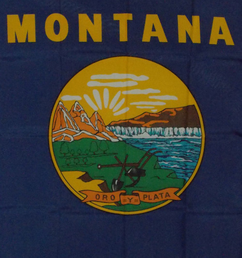 MONTANA 3X5' S-POLY FLAG IMPORTED