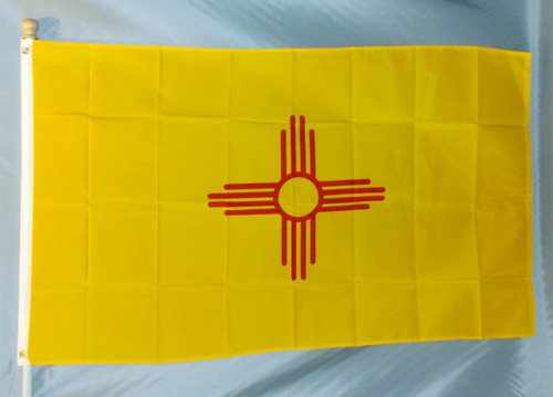 NEW MEXICO 3X5' S-POLY FLAG IMPORTED