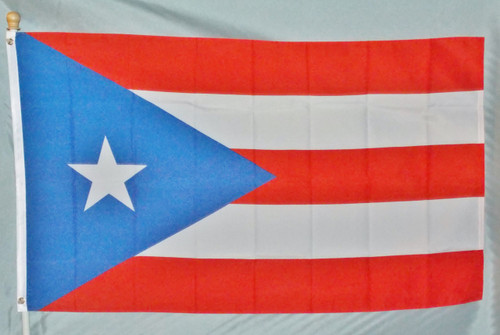PUERTO RICO 3X5' S-POLY FLAG