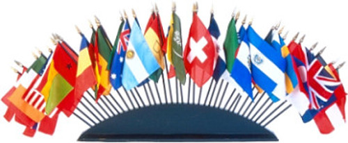 """TABLE BASE FOR 35 - 4X6"""" FLAGS"""