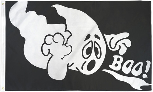 HALLOWEEN GHOST 3X5' S-POLY FLAG