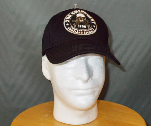 """2nd AMENDMENT AMERICA'S ORGINAL HOME LAND SECURITY"" BALL CAP"