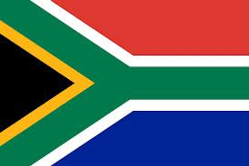 SOUTH AFRICA NYLON FLAGS 2X3' TO 5x8'