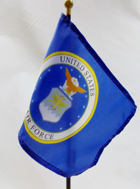"AIR FORCE 4X6"" TABLE TOP FLAG"