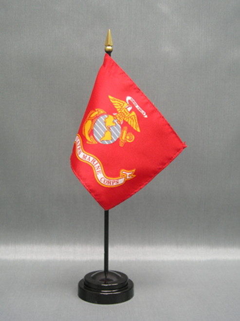 "MARINES 4X6"" TABLE TOP FLAG"