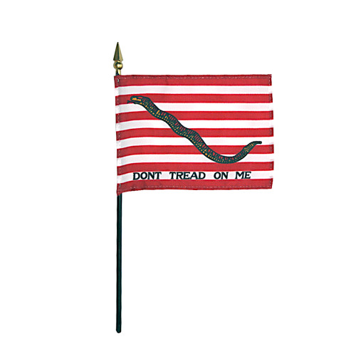 "FIRST NAVY JACK 4X6"" TABLE TOP FLAG"