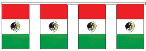 MEXICO 30' FLAG STRING