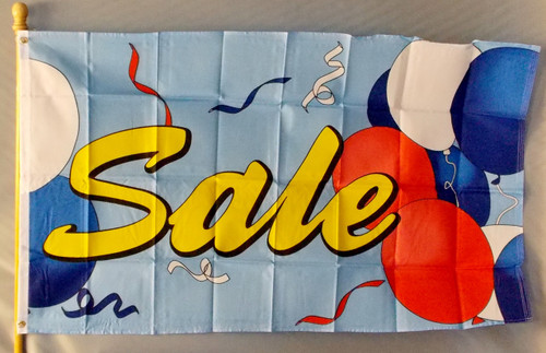 SALE BALLOONS 3X5' S-POLY FLAG