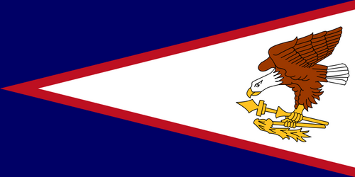 AMERICAN SAMOA NYLON FLAGS 3X5' TO 5X8'