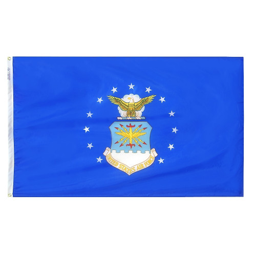 """US AIR FORCE NYLON FLAGS 12X18"""" TO 8x12'"""