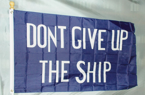 COMMODORE PERRY 3X5' S-POLY FLAG