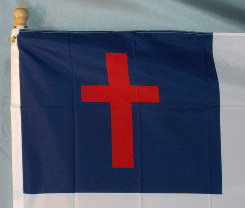 CHRISTIAN 3X5' S-POLY FLAG