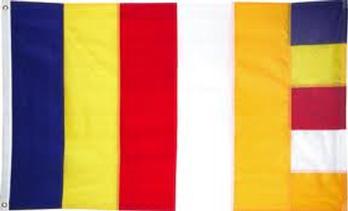 BUDDHIST 3X5' NYLON FLAG