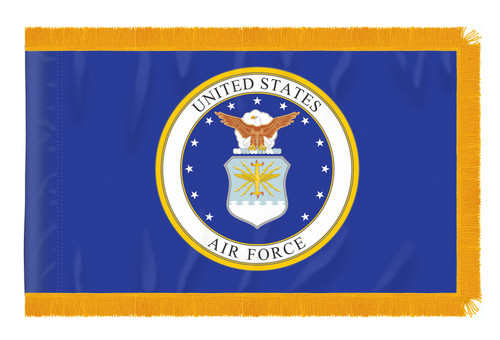 8' US AIR FORCE INDOOR FLAG SET
